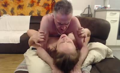 Amateur Swiss Wife Fucked On The Sofa