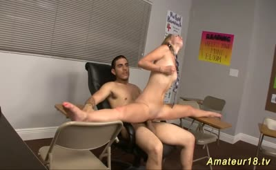 fucking flexible hot blonde babe