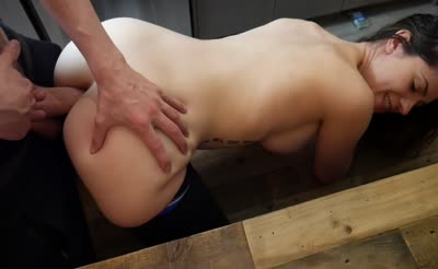 Blackmailing Ashley For Anal